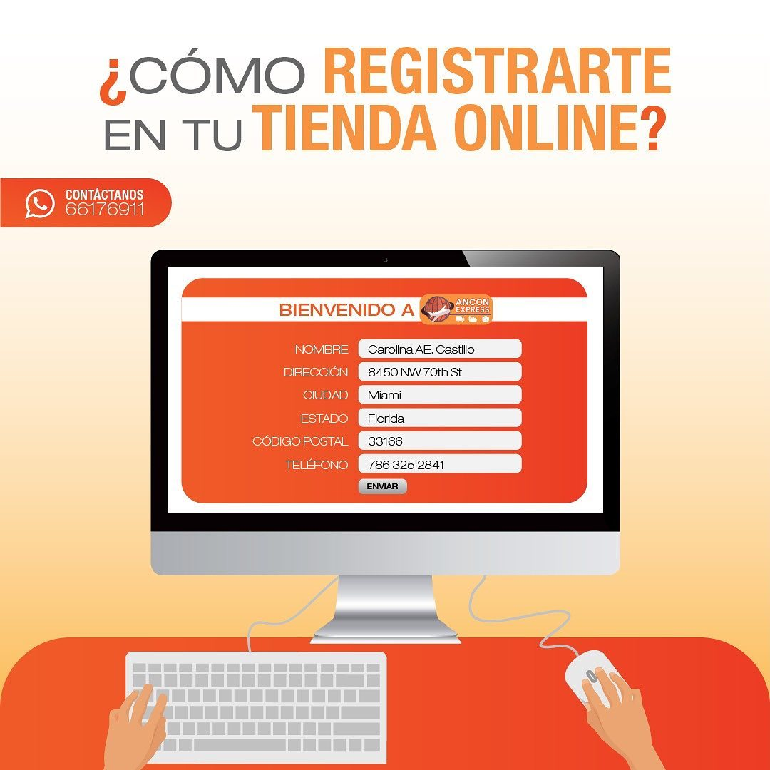 Como registrarte en tu tienda online